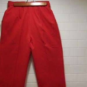 Wool Crop Pants